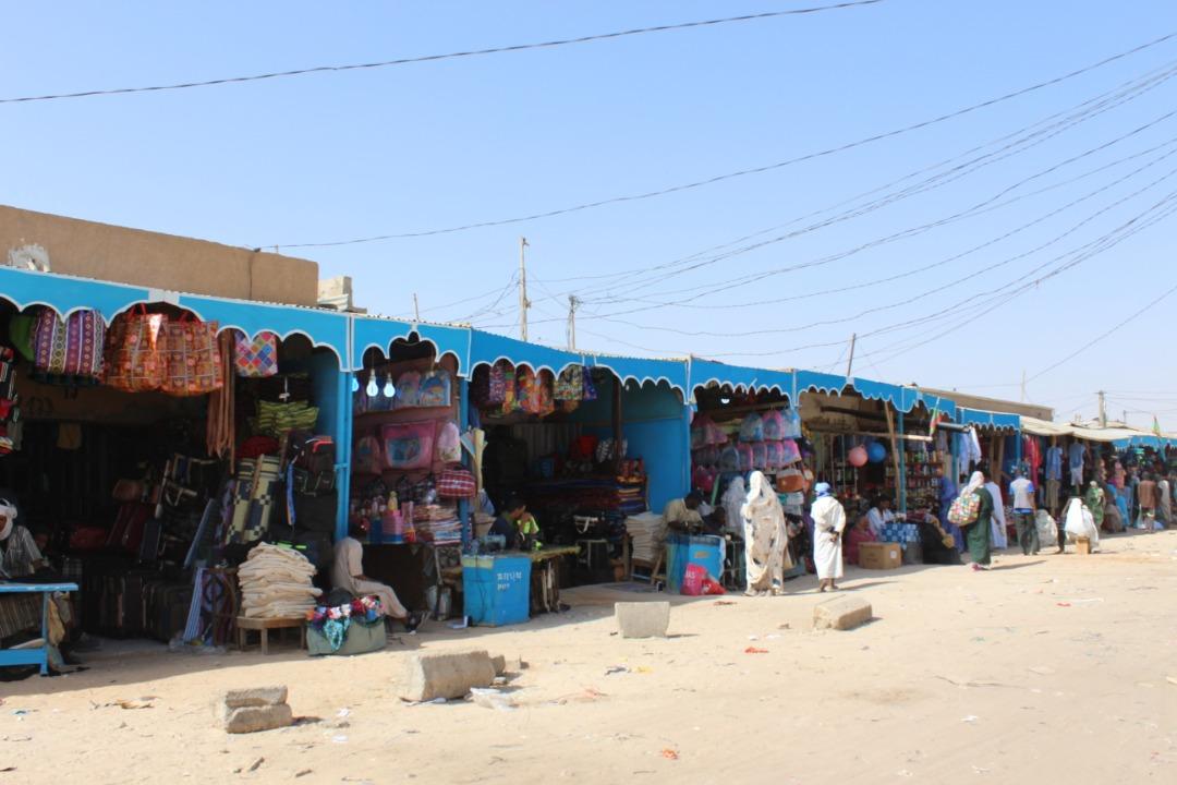 الواجهة الجديدة لسوق البلدية، والتي نالت إعجاب الزوار
